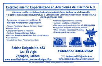 Establecimiento Especializado en Adicciones del Pacífico A.C.
