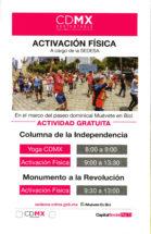 Activación física a cargo de la SEDESA - Actividad Gratuita