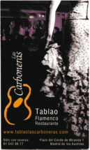 Las Carboneras Tablao Flamenco Restaurante