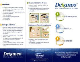Antiinflamatorio - Antibiótico - Antialérgico - Tratamiento de infecciones, bacterianas, alérgicas e inflamación
