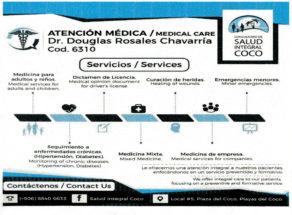 Atención Médica - Consultorio Salud Integral Coco