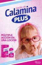 Loción de Calamina Plus - múltiple acción en una loción