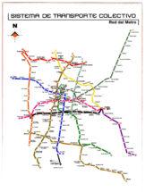 Sistema de Transporte Colectivo - Red del Metro