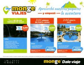 monge viajes - Aprovechá nuestros paquetes y empezá la aventura