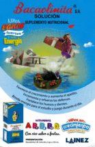 Bacaolinita S.N. Solución Suplemento Nutricional - Niños sanos fuertes y con energía
